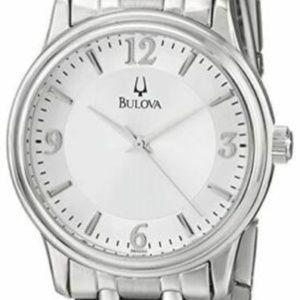 Bulova Corporate Exclusive Silver Dial Men's Watch